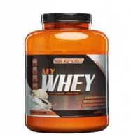 Vanilla  flavored  My  whey
